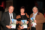 Frank Godfrey, Linda Bell-Woods and Stephen Early show their support for Drogheda..Picture: Shane Maguire / www.newsfile.ie.