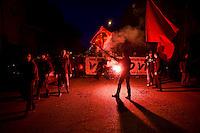 Roma 22 Febbraio 2014<br /> Manifestazione in ricordo di Valerio Verbano, ucciso dai fascisti nella sua abitazione nel 1980.<br /> Rome, February 22, 2014<br /> Demonstration in memory of Valerio Verbano, killed by fascists in his home in 1980
