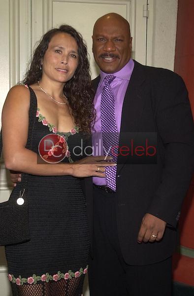 Ving Rhames and wife Debbie