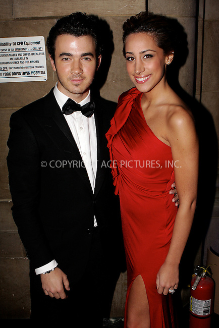 WWW.ACEPIXS.COM . . . . .  ....November 29, 2011, New York City....Kevin Jonas and Danielle Jonas attends 2011 UNICEF Snowflake Ball at Cipriani 42nd Street on November 29, 2011 in New York City. ....Please byline: NANCY RIVERA- ACEPIXS.COM.... *** ***..Ace Pictures, Inc:  ..Tel: 646 769 0430..e-mail: info@acepixs.com..web: http://www.acepixs.com