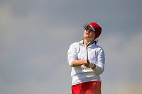 Natalie Armbruester (CHE) during the final round at the Irish Woman's Open Stroke Play Championship, Co. Louth Golf Club, Louth, Ireland. 12/05/2019.<br /> Picture Fran Caffrey / Golffile.ie<br /> <br /> All photo usage must carry mandatory copyright credit (&copy; Golffile | Fran Caffrey)