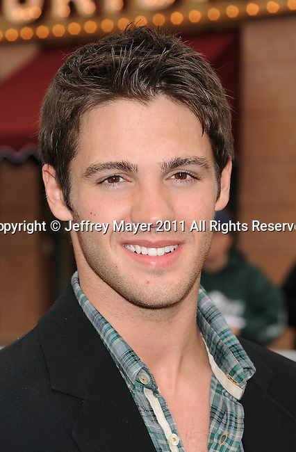 """ANAHEIM, CA - MAY 07: Steven McQueen arrives to the """"Pirates Of The Caribbean: On Stranger Tides"""" World Premiere at Disneyland on May 7, 2011 in Anaheim, California."""