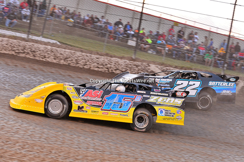 Jun 7, 2013; 9:02:19 PM; Rossburg, OH., USA; The 19th annual Dirt Late Model Dream XIX in an expanded format for Eldora's $100,000-to-win race includes two nights of double features, 567 laps of action  Mandatory Credit:(thesportswire.net)