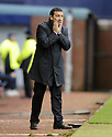 24/10/2009  Copyright  Pic : James Stewart.sct_jspa21_kilmarnock_st_johnstone  . :: DEREK MCINNES DURING THE GAME AGAINST KILMARNOCK :: .James Stewart Photography 19 Carronlea Drive, Falkirk. FK2 8DN      Vat Reg No. 607 6932 25.Telephone      : +44 (0)1324 570291 .Mobile              : +44 (0)7721 416997.E-mail  :  jim@jspa.co.uk.If you require further information then contact Jim Stewart on any of the numbers above.........