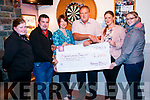 Sinead O'Shea, Shane Randles, Sinead Healy Kilgarvan Community playground, Eamonn Horgan Kilgarvan Community playground, Theresa and Sandra O'Shea. Kenmare Macra recently held a mouse racing night in the Top of Coom bar and donated €1,000 to the Kilgarvan Community playground