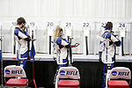 COLUMBUS, OH - MARCH 11: University of Kentucky athletes compete during the Division I Rifle Championships held at The French Field House on the Ohio State University campus on March 11, 2017 in Columbus, Ohio. (Photo by Jay LaPrete/NCAA Photos via Getty Images)
