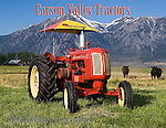 Carson Valley Tractors 2006 calendar by Larry Angier for members of the Carson Valley EDGE & TA, Branch 113