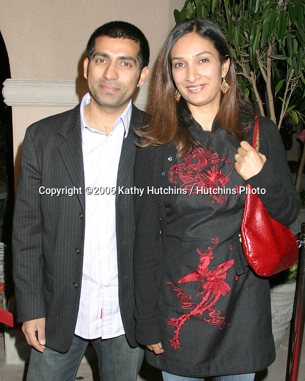 Ravi Kapoor & Wife.NBC TCA Press Tour Party.Pasadena Ritz Carlton Hotel.Padadena, CA.January 22, 2006.©2006 Kathy Hutchins / Hutchins Photo....