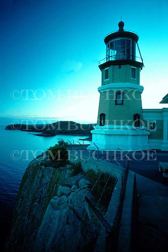 Split Rock lighthouse, Split Rock State Park, Minnesota, Lake Superior.