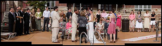 Pete DeLuca and Kristy wedding<br />