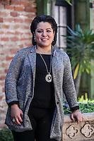 Retratos de la soprano Jean Cocteau Maria Katzarava y el pianista Abdiel Vazquez. Hotel Colonial. <br /> <br /> <br /> Tercer d&iacute;a de actividades de el Festival Alfonso Ortiz Tirado (FAOT2017) en Alamos ,Sonora, Mexico. &copy;Foto: Luis Guti&eacute;rrrez