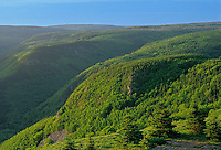 """Sugar loaves' mountains<br /> Cape Breton<br /> Nova Scotia<br /> Canada"