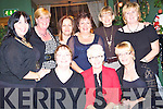 Celebrating women's christmas in Fitzgerald's restaurant were front l-r Patricia Heffernan, Maria Conway and June O'Connor.  Back l-r Marguerite Rid, Amanda Gilbert, Joan Sills, Catherine Allen, Catherine Goggin and Margaret Heffernan, all from Lixnaw...