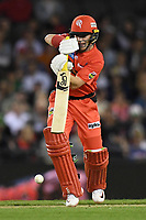 10th January 2020; Marvel Stadium, Melbourne, Victoria, Australia; Big Bash League Cricket, Melbourne Renegades versus Melbourne Stars; Marcus Harris of the Renegades hits the ball - Editorial Use