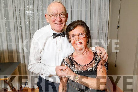 "John and Ena O'Shea providing the interval entertainment at the Tralee Musical Society ""Strictly Come Dancing"" Mr and Mrs in Ballyroe Heights Hotel on Saturday."