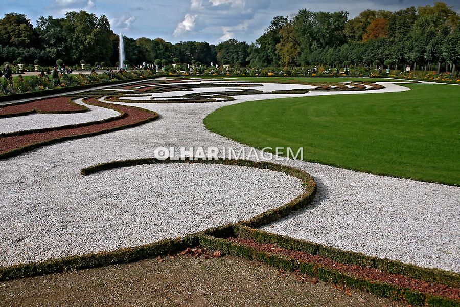 Jardins do Palácio Charlottemburg. Berlim. Alemanha. 2007. Foto de Marcio Nel Cimatti.