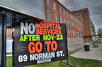 The former Sarnia General Hospital sits vacant and ready for the next phase of history.