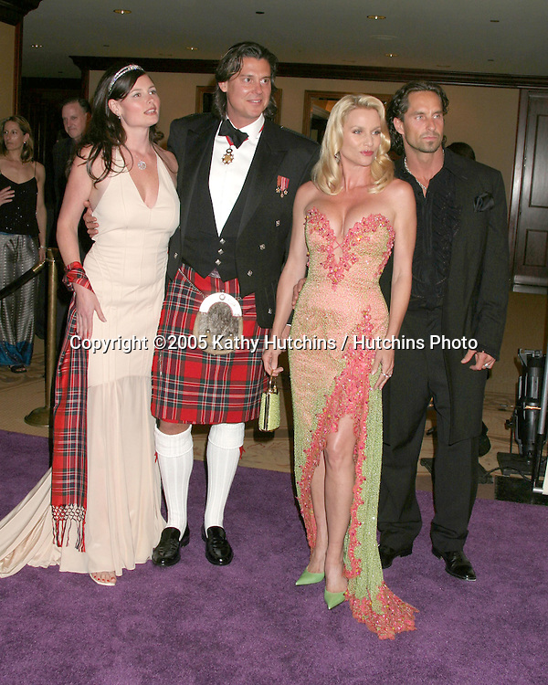 Nicolette Sheridan and fiance Nicolas.friends.12th Annual Race to Erase MS.Beverly Hills, CA.April 22, 2005.©2005 Kathy Hutchins / Hutchins Photo.