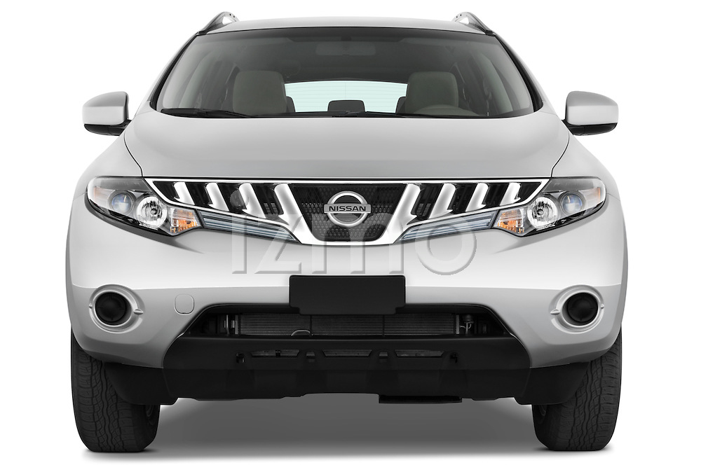 Straight front view of a 2009 Nissan Murano