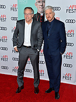 "LOS ANGELES, USA. November 17, 2019: Director Fernando Meirelles & writer Anthony McCarten at the gala screening for ""The Two Popes"" as part of the AFI Fest 2019 at the TCL Chinese Theatre.<br /> Picture: Paul Smith/Featureflash"