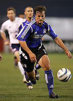 2 April 2005:   Eddie Robinson of Earthquakes against Revolution at Spartan Stadium in San Jose, California.   Earthquakes and Revolutions tied at 2-2.  Credit: Michael Pimentel / ISI