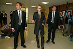 Japanese musician Yoshiki of X JAPAN leaves the headquarters of the Liberal Democratic Party of Japan (LDP) after attended a meeting with the members of the ruling party on November 30, 2016, Tokyo, Japan. Yoshiki was invited to help promote Prime Minister Shinzo Abe's administration project Cool Japan overseas. Cool Japan is a governmental project which aims to promote Japanese culture and attract foreign visitors. The government is targeting attracting 40 million foreign tourists per year by 2020 Olympic Games. In 2016 the number is expected to be 24 million. (Photo by Rodrigo Reyes Marin/AFLO)