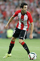 Athletic de Bilbao's Markel Susaeta during Supercup of Spain 1st match.August 14,2015. (ALTERPHOTOS/Acero)