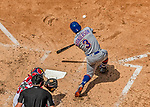 30 April 2017: New York Mets outfielder Curtis Granderson at bat in the 3rd inning against the Washington Nationals at Nationals Park in Washington, DC. The Nationals defeated the Mets 23-5 in the third game of their weekend series. Mandatory Credit: Ed Wolfstein Photo *** RAW (NEF) Image File Available ***