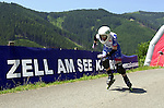 1. Inline Downhill Weltmeisterschaft, Zell am See (Austria) Am Start