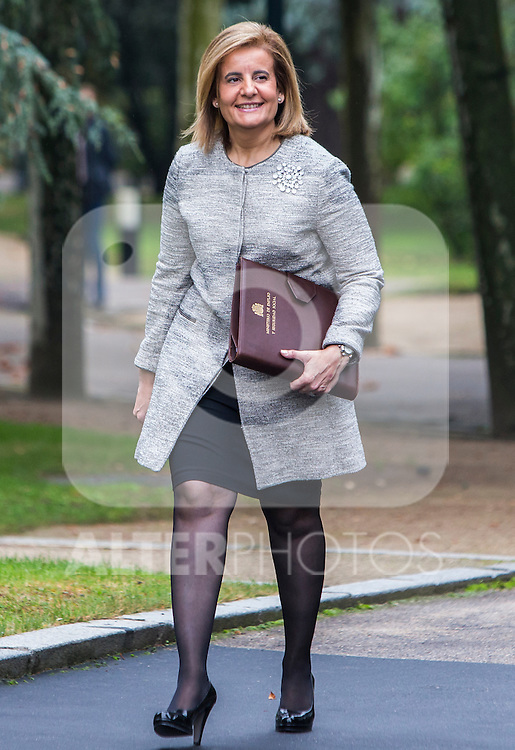 Spanish Minister of Employment and Social Security Fatima Banez during the prensentation of Rajoy's New Government at Moncloa Palace in  Madrid, Spain. November 04, 2016. (ALTERPHOTOS/Rodrigo Jimenez)