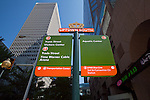 Charlotte NC - New color coded signs in uptown