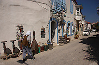 Antique shop in Alacati, Turkey