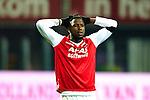 Nederland,Alkmaar, 8 december  2012.Eredivisie.Seizoen 2012/2013.AZ_Willem II.Jozy Altidore van AZ baalt na het 0-0 gelijkspel tegen Willem II