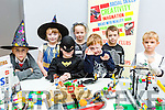 Enjoying the Kilmoyley Community centre Holloween Scary builder Fancy dress Kidz brick Club workshop on Friday were David McCarthy, Aoibheann Flaherty, Aoife McElligott, Donagh Flaherty, Des O'Carroll, Daithi Laide and Matthew Cahill