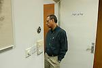 Nachman Shai, Jewish Agency, at office.<br /> November 2nd, 2006 (Photo by Ahikam Seri).