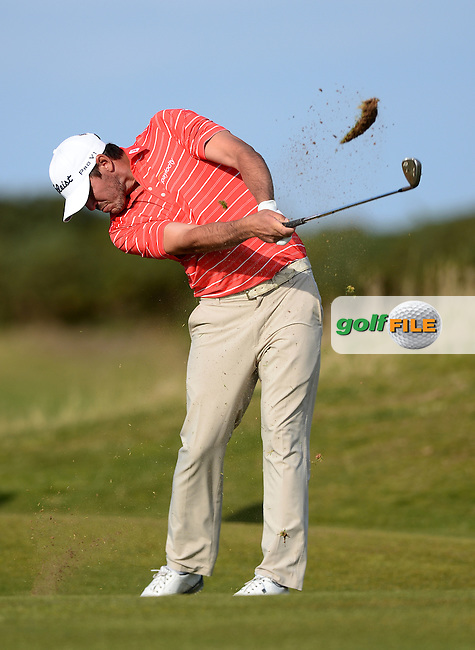 Brooks Koepka of USA in action during Round 3 of the 2015 Alfred Dunhill Links Championship at the Old Course, St Andrews, in Fife, Scotland on 3/10/15.<br /> Picture: Richard Martin-Roberts | Golffile