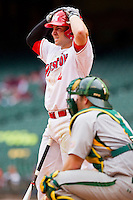 Ryan Still #2 of the Houston Cougars at bat against the Baylor Bears at Minute Maid Park on March 4, 2011 in Houston, Texas.  Photo by Brian Westerholt / Four Seam Images