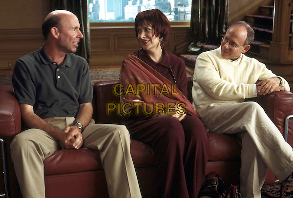 "(L-r) DON LAKE, DEBORAH THEAKER and BOB BALABAN in Castle Rock EntertainmentÕs documentary-style comedy ""A Mighty Wind,"" distributed by Warner Bros. Pictures.  ..Filmstill - Editorial Use Only.Ref: FB.sales@capitalpictures.com.www.capitalpictures.com.Supplied by Capital Pictures."
