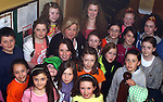 Producer/Director, Rose Downes with some of the children who took part in the Dunleer Variety Performance Fundraiser for Haiti Victims...Photo NEWSFILE/Jenny Matthews.(Photo credit should read Jenny Matthews/NEWSFILE)....This Picture has been sent you under the condtions enclosed by:.Newsfile Ltd..The Studio,.Millmount Abbey,.Drogheda,.Co Meath..Ireland..Tel: +353(0)41-9871240.Fax: +353(0)41-9871260.GSM: +353(0)86-2500958.email: pictures@newsfile.ie.www.newsfile.ie.FTP: 193.120.102.198.