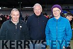 Rathmore fans pictured at the O'Donoghue Cup Final Crokes v Rathmore, held at Fitzgerald Stadium Killarney on Sunday last were l-r: Neilie Kerins Mike Hickey and Padraig Murphy.
