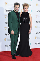 LONDON, UK. February 09, 2019: Andy Serkis and Lorraine Ashbourne arriving for the 2019 BAFTA Film Awards Nominees Party at Kensington Palace, London.<br /> Picture: Steve Vas/Featureflash