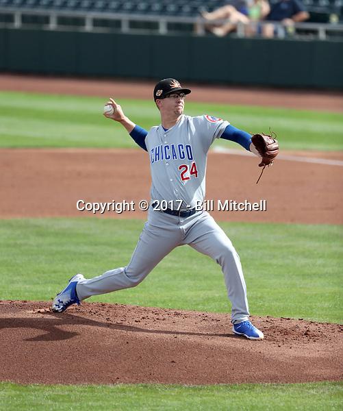 Alec Mills - Mesa Solar Sox - 2017 Arizona Fall League (Bill Mitchell)