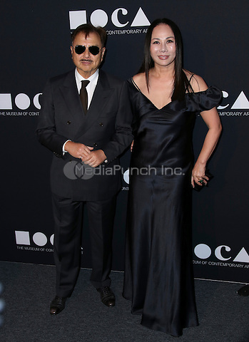 LOS ANGELES, CA - MAY 14: Michael Chow, Eva Chow arrives at the MOCA Gala 2016 at The Geffen Contemporary at MOCA on May 14, 2016 in Los Angeles, California. Credit: Parisa/MediaPunch.