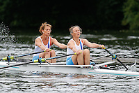 W.MasD.2x QF -  Berks: 273 Putney Town RC -  Bucks: 274 Cornelis Tromp RC (NED)<br /> <br /> Friday - Henley Masters Regatta 2016<br /> <br /> To purchase this photo, or to see pricing information for Prints and Downloads, click the blue 'Add to Cart' button at the top-right of the page.