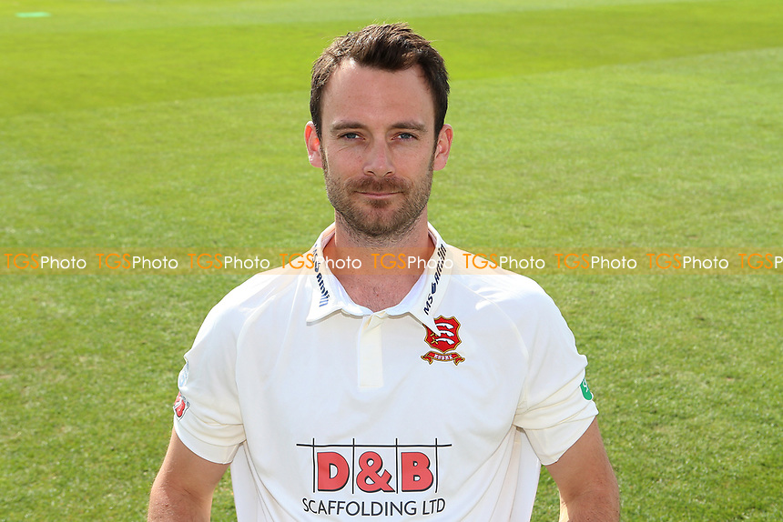 James Foster of Essex in Specsavers County Championship kit during the Essex CCC Press Day at The Cloudfm County Ground on 5th April 2017