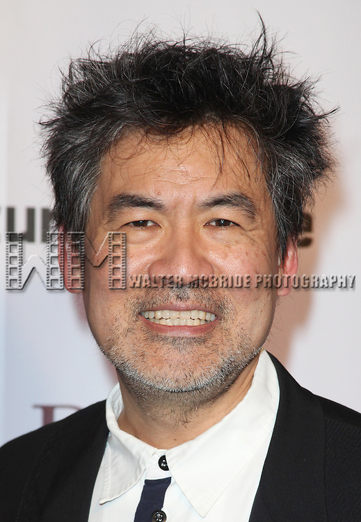 David Henry Hwang.attending The Signature Theatre Center Opening Gala Celebration honoring Edward Norton in New York City on 1/30/2012..