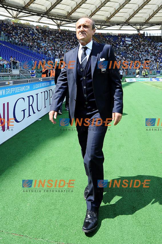 Delio Rossi allenatore Sampdoria .Roma 12/05/2013 Stadio Olimpico.Football Calcio 2012/2013 Serie A.Lazio Vs Sampdoria.Foto Andrea Staccioli Insidefoto
