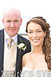 Alma daughter of Kathleen and Gerald Cronin, Waterville, and Brendan son of Mary and Noel O'Sullivan, Cahersiveen who were married on Saturday in St. Finians Church, Waterville.  The reception was held in the Skellig Bay Hotel, Waterville.