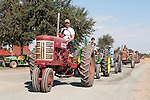 Annual fall Gas-Up at McFarland Ranch near Galt, Calif. of Branch 13, Early-Day Gas Engine and Tractor Association. (EDGE & TA)..Late 1950s Farmall tractor