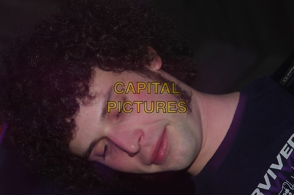 THE MAGIC HEROES.Live in concert, The Social, Nottingham, .22nd March 2005..portrait headshot band gig music eyes shut closed funny.Ref: JEZ.www.capitalpictures.com.sales@capitalpictures.com.©Jez Self/Capital Pictures